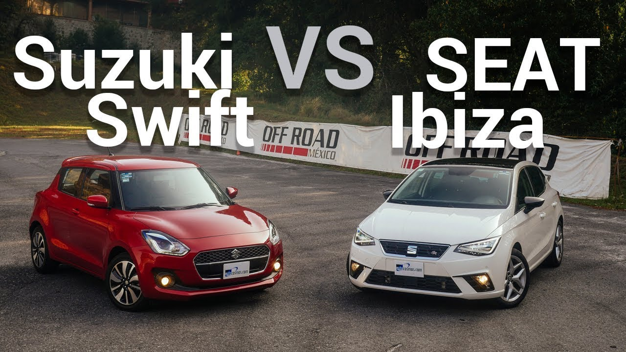 SEAT Ibiza VS Suzuki Swift - Frente a frente image