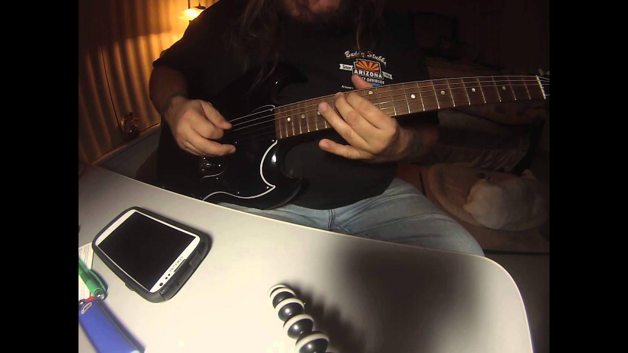 Copperhead Road Intro Guitar Youtube