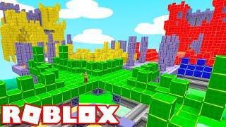 Roblox → NOVO JOGO DE DESTRUIÇÃO DE TORRES !! - Roblox Brickbattle Blast 🎮
