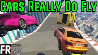 Cars Really Do Fly - Gta 5 Racing