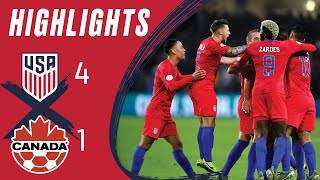 MNT vs. Canada: Highlights - Nov. 15, 2019