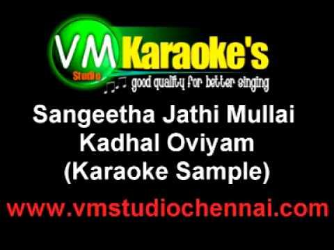 Sangeetha Jathi Mullai Karaoke HQ