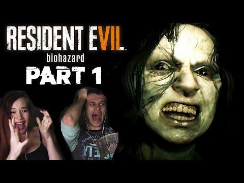 Resident Evil 7 Gameplay REACTION + TERRIFYING FACECAM - Part 1 (1+ HOUR OF FULL GAME ON PS4 PRO)