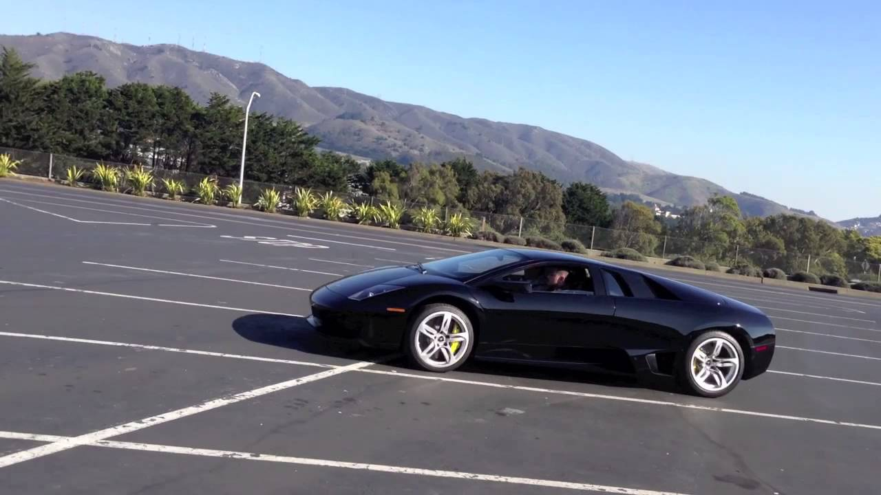 10 year old lamborghini