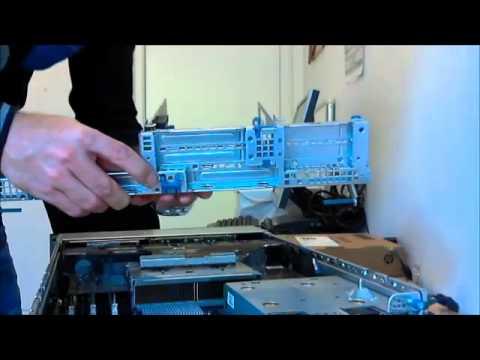 HP DL380 G7 - Adaptor installation