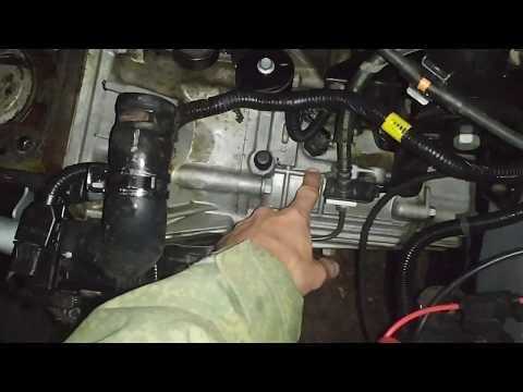Наглядный пример где находится датчик заднего хода Hyundai Accent