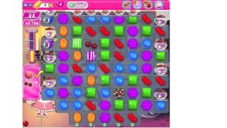 Candy Crush Saga Level 521 ★★★ no boosters (TUTORIAL)