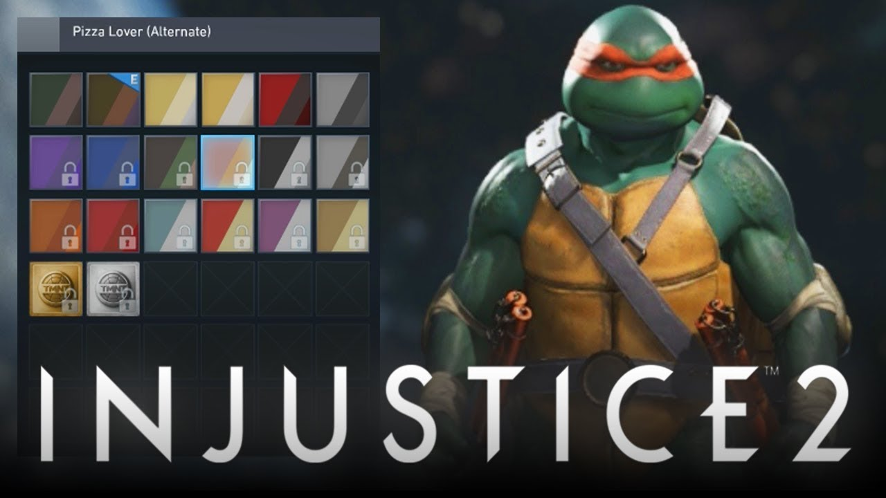 injustice 2 how to play as tmnt