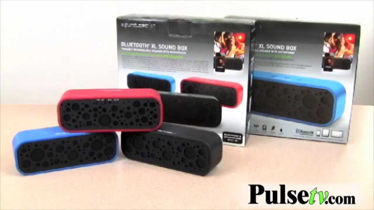 Soundlogic Xt Bluetooth Xl Sound Box Youtube