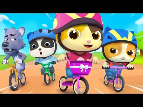 You Can Ride A Bike | Bath Song, Beach Song | Nursery Rhymes | Kids Songs | BabyBus