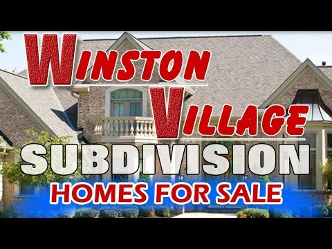 Winston Village House For Sale Near Wood View Elementary School