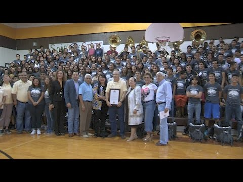 Hanna Golden Eagle UIL State Marching Band Rally (FULL)