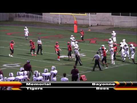 MHS Football vs  Bayonne 9-23-16