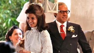 Katie Holmes Is the Spitting Image of Jackie Kennedy in Her Wedding Dress