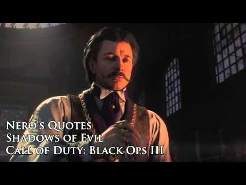 """Nero's quotes / sound files (Black Ops III Zombies """"Shadows of Evil"""")"""