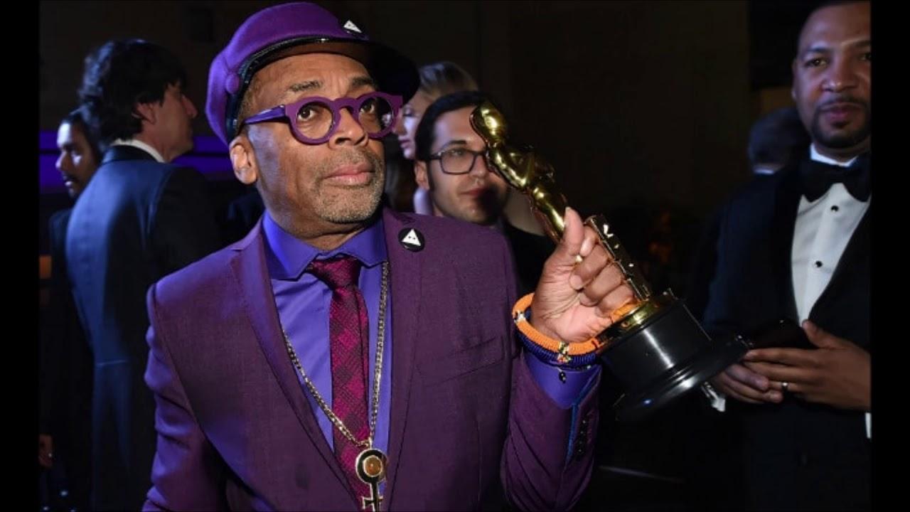 Spike Lee Wins His 1st Oscar For 'Blackkklansman'