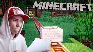 СТРОЮ САМУЮ ДЛИННУЮ ЖЕЛЕЗНУЮ ДОРОГУ!! (Minecraft PE Выживание #5)