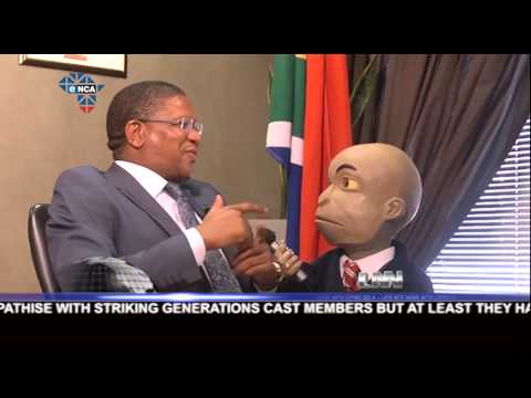 LNN10 EP12 | Chester Missing interviews Minister of Sports and Recreation Fikile Mbalula