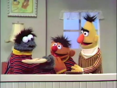 Sesame Street Ernie And Bert Who Took Bert S Cookies 1970 Full
