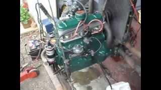 Démarrage du moteur de la 4cv