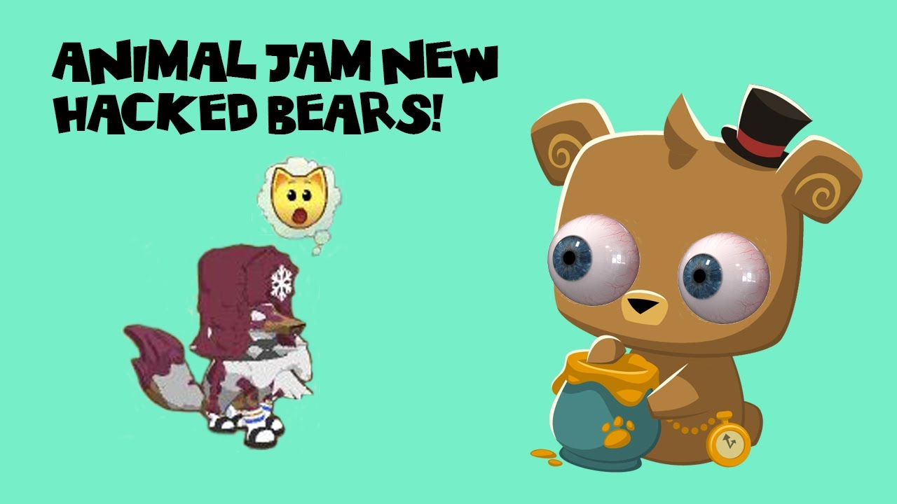 Hacked Pet Bear Scam! - Animal Jam - YouTube