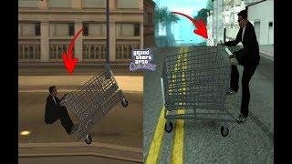 Secret trolley in GTA San Andreas-secret location Hidden Place (Cj Madd Carl) #RAJPOOTGAMER