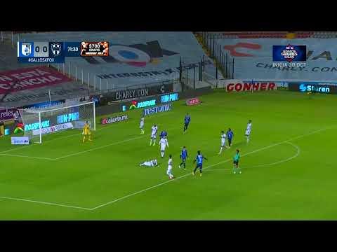 Queretaro 0 - [1] Monterrey - Arturo Gonzalez 71'