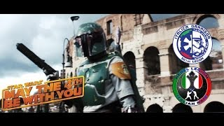 May the 4th Italy - Official 501st italica garrison & Rebel legion italian base video