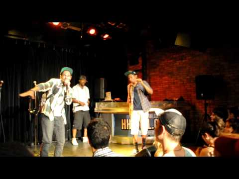 The Celestics: A Tribe Called Quest - Electric Relaxation (HHK MTL: July 23, 2011)