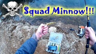 Jackall Squad Minnow - обзор, проводка и все отличия между воблерами Squad Minnow и Mag Squad.