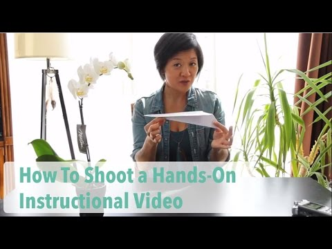 How To Shoot A Hands On Instructional Video Emmy Wu Media