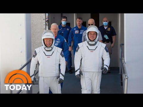 NASA And SpaceX Prepare To Launch Astronauts Into Orbit | TODAY