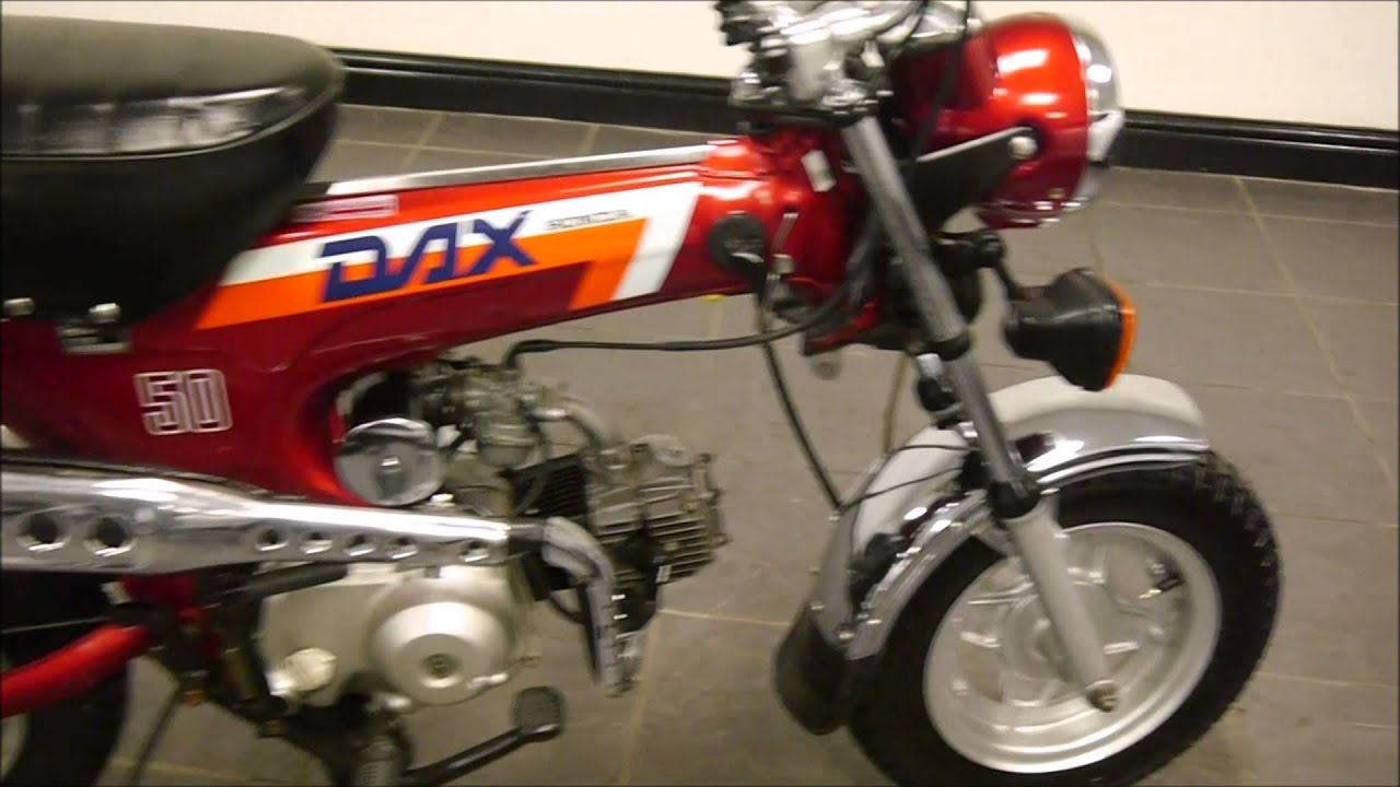 1989 honda st 50 st50 12v dax monkey bike superb original condition youtube. Black Bedroom Furniture Sets. Home Design Ideas