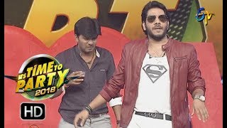 Noel Sean | Special Song Performance | ITS TIME TO PARTY | 31st December 2017 | ETV Telugu