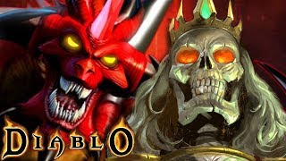 The Horrific Tale of 'THE SKELETON KING' Leoric in Diablo 1