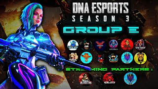 🔴DNA E-Sports Tournament|| YT TEAMS || DEMiGOd.