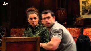Cain And Andy Discover Andy's House Is On Fire - Emmerdale