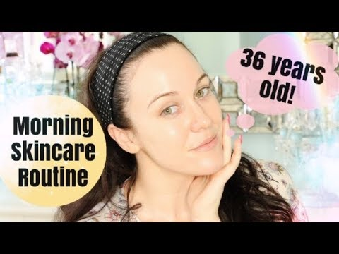 36 YEARS OLD ll Morning Skincare Routine ll Dry Skin, Fine Lines + Hyperpigmentation thumbnail