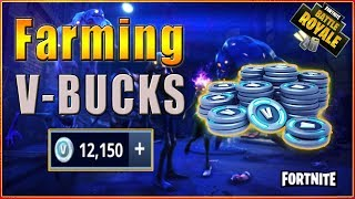 Get Fortnite V-Bucks by just playing- PVE VBucks Farming-Gain Loads of V-BUCKS!