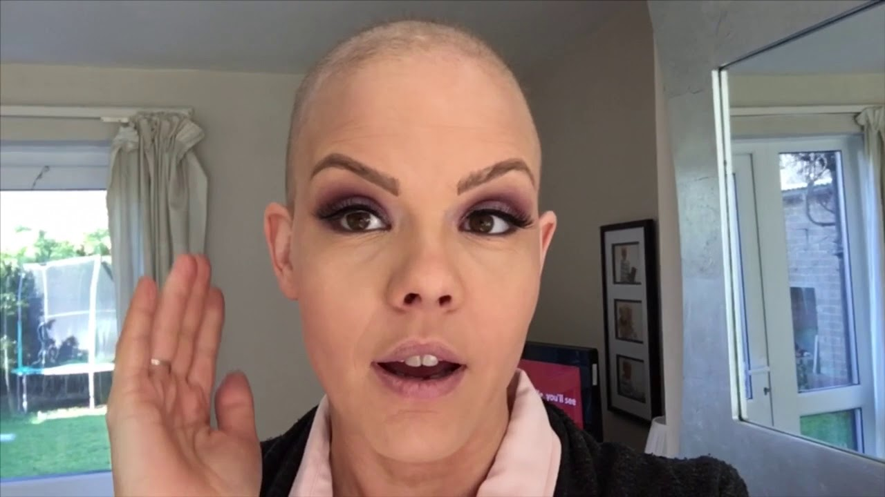 post chemo hair growth - bald to pixie cut