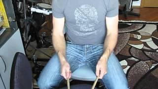 Барабанные упражнения для начинающих (часть2)