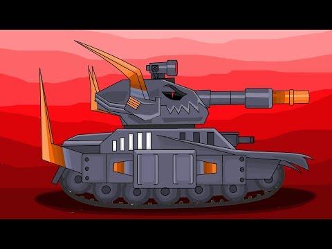 Морок - Брат Левиафана - Мультики про танки    рисуем танки
