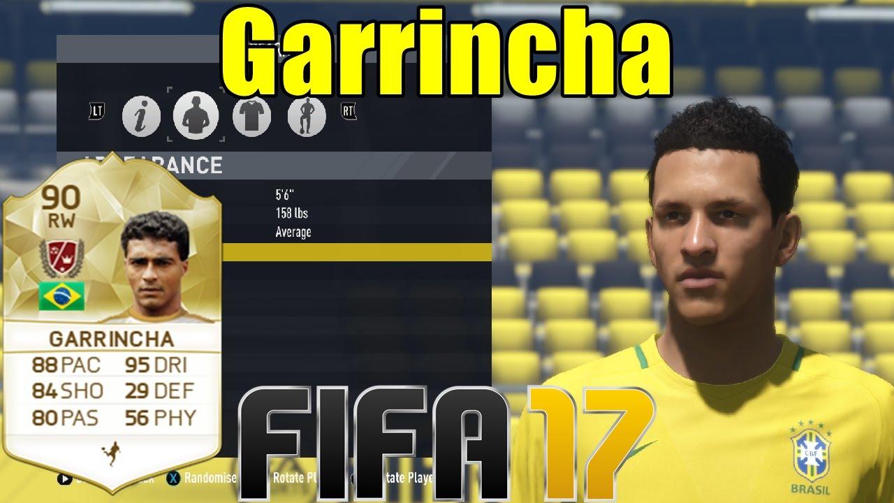 FIFA 17 Garrincha Virtual Pro Look A Like Tutorial with