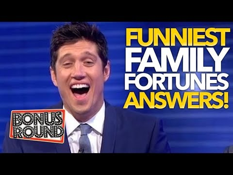 Funniest Game Show Moments Family Fortunes UK | Bonus Round