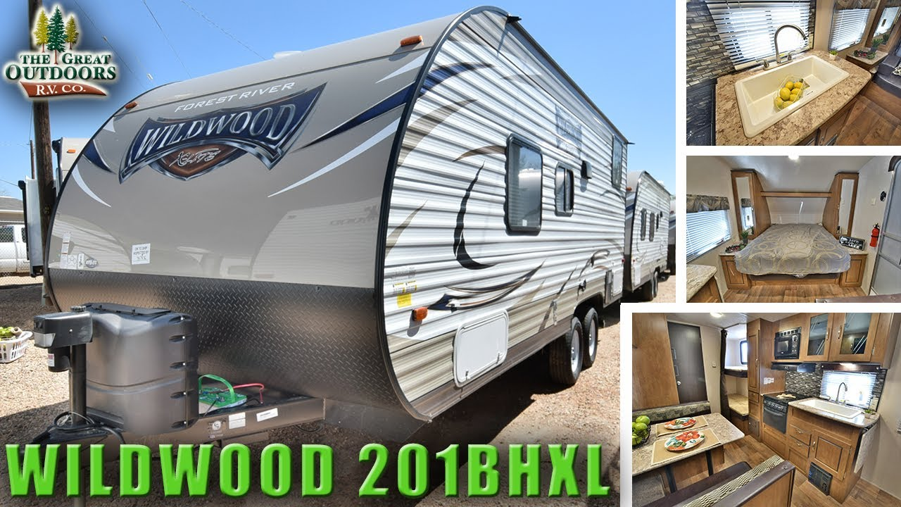 New Bunk Bed Model 2018 Forest River Wildwood 201bhxl Travel Trailer