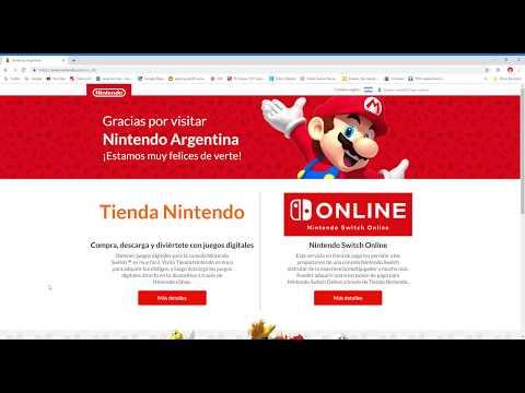 Nintendo E-shop Argentina Tour Mayo 2019 . Nintendo Online