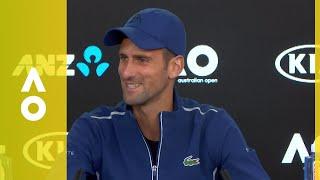 Novak Djokovic press conference (3R) | Australian Open 2018