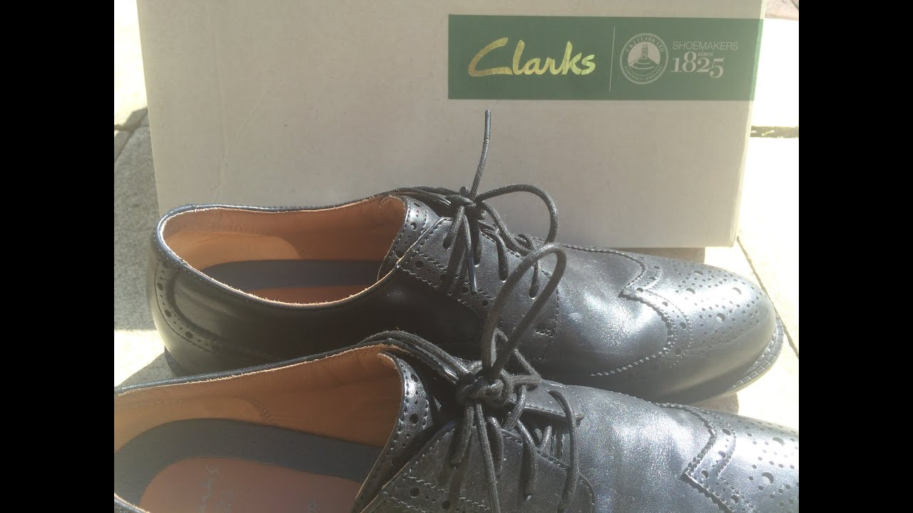 88b72287e2d2f Clarks Dorset Limit fresh out of the box. (Review)