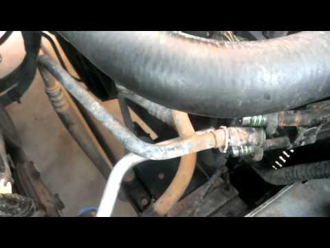 Project Mustang - Leak detecting AC lines - Replacing o-rings