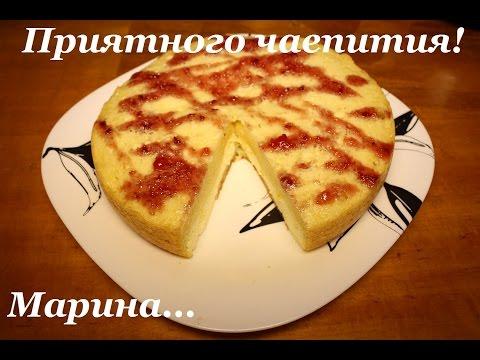 пирог с творогом рецепт пошагово в мультиварке редмонд